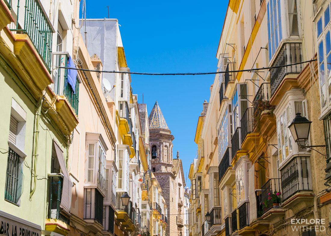 Architecture in Cádiz
