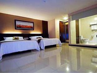 2 tempat tidur hotel scarlet jalan siliwangi nomer 5 dago bandung penginapan murah dekat itb bandung
