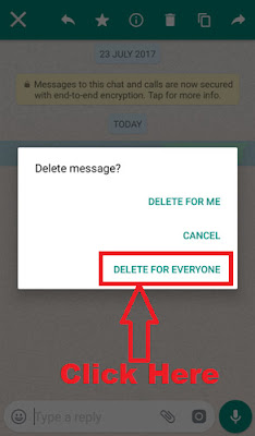 delete whatsapp message by mistake