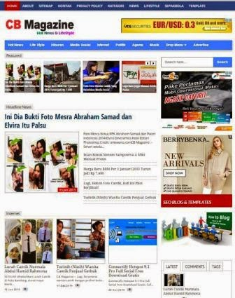 Template Blog SEO Friendly Terbaru 2015 Skor SEO 100%