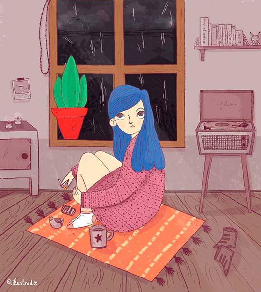 Ilustración de Juana Puentes aka ilustrado