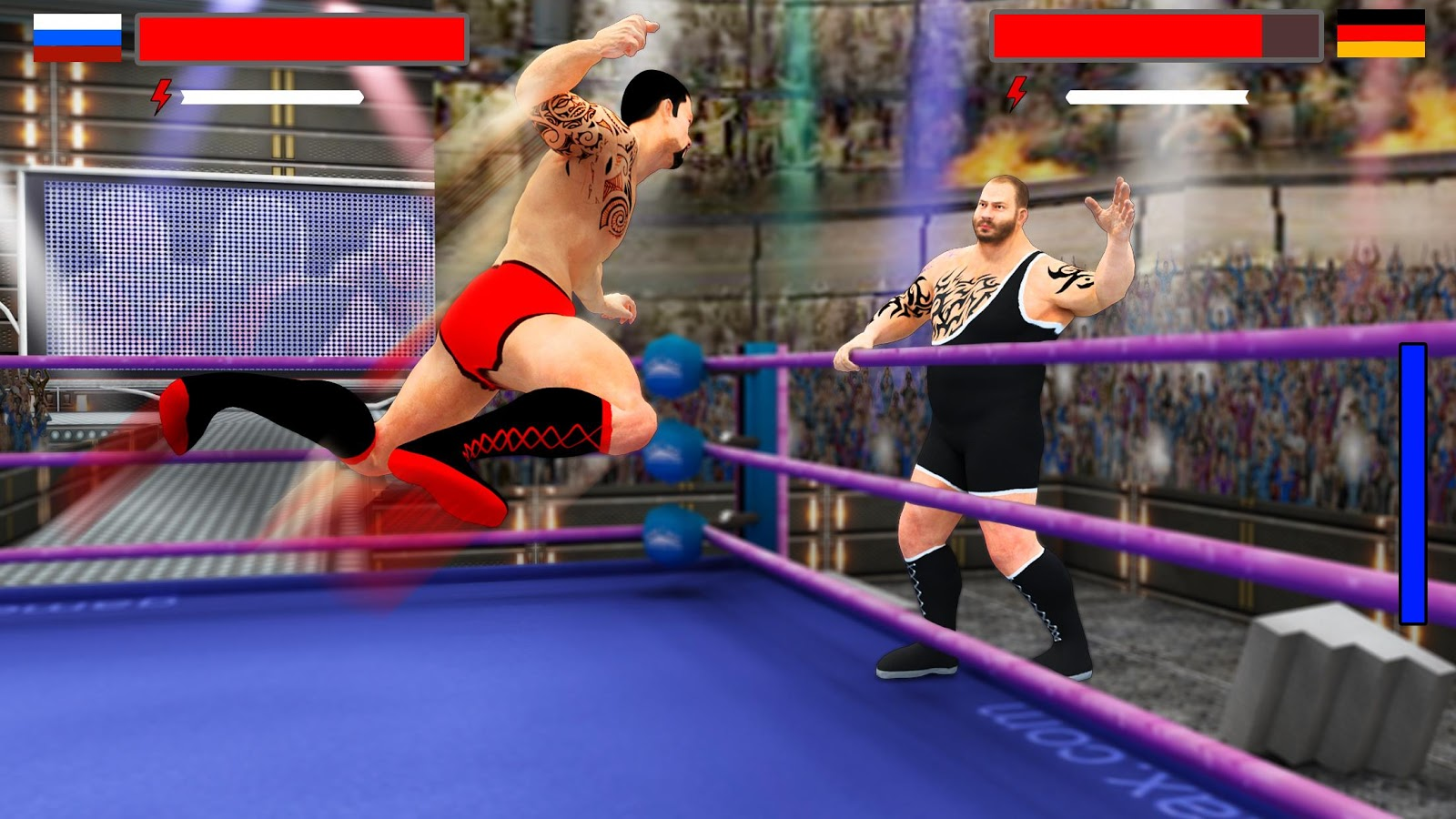 Stars Wrestling Revolution 2017 Real Punch Boxing MOD APK