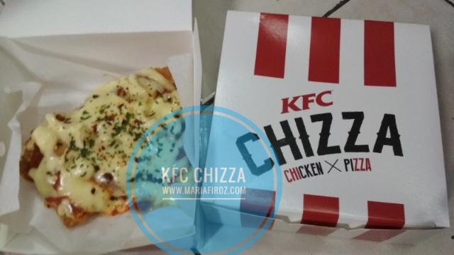 Hari Ketiga Pantang Dah Makan KFC  Chizza?