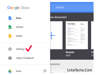 how to discover google doc offline