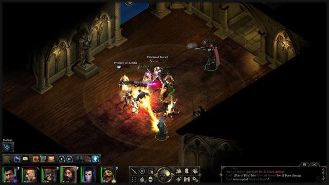 Isometrisches Rollenspiel Baldur's Gate