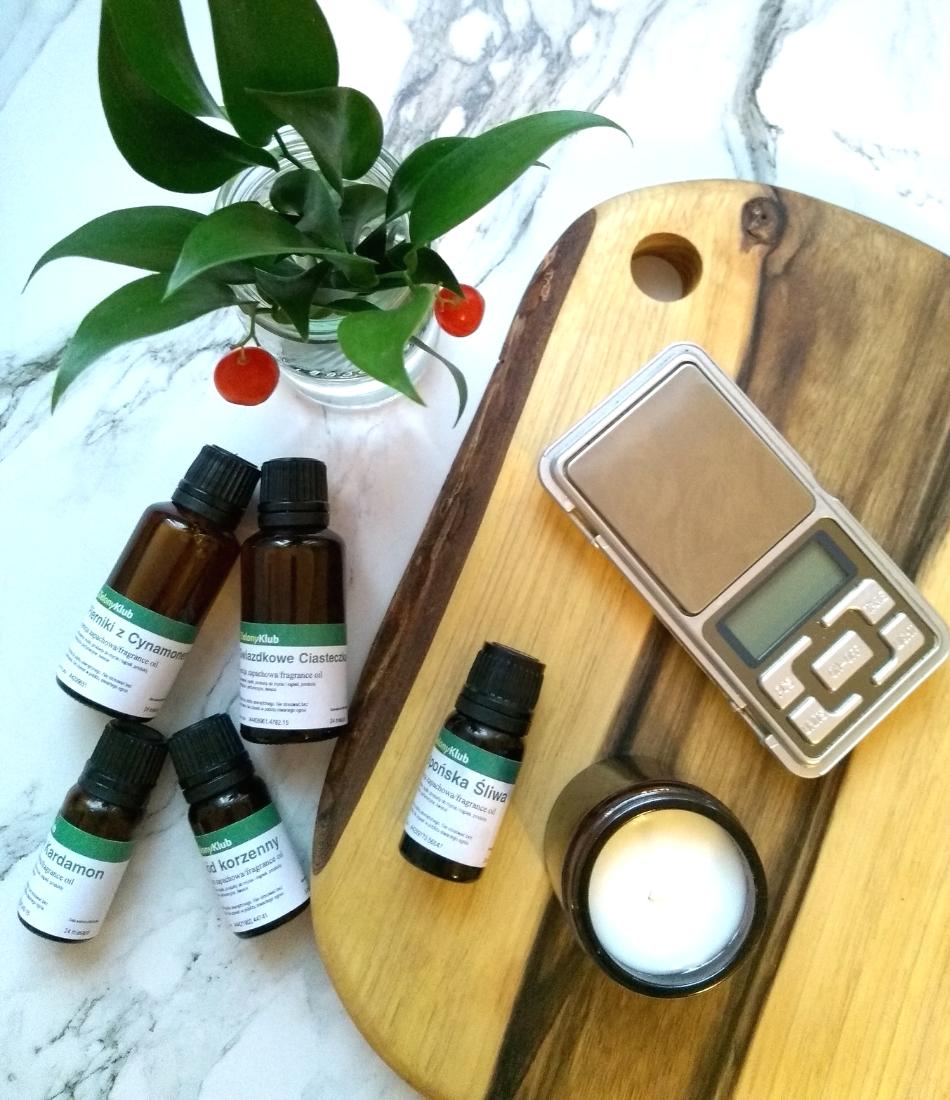 Świece zapachowe DIY - zapachy Zielony Klub opinie