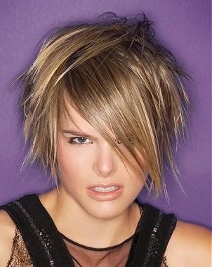 Corte de pelo bien desmechado