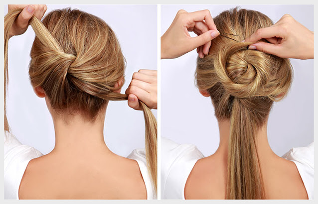 how to do a twisted bun