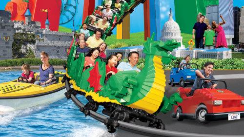 Ingressos para o Legoland California