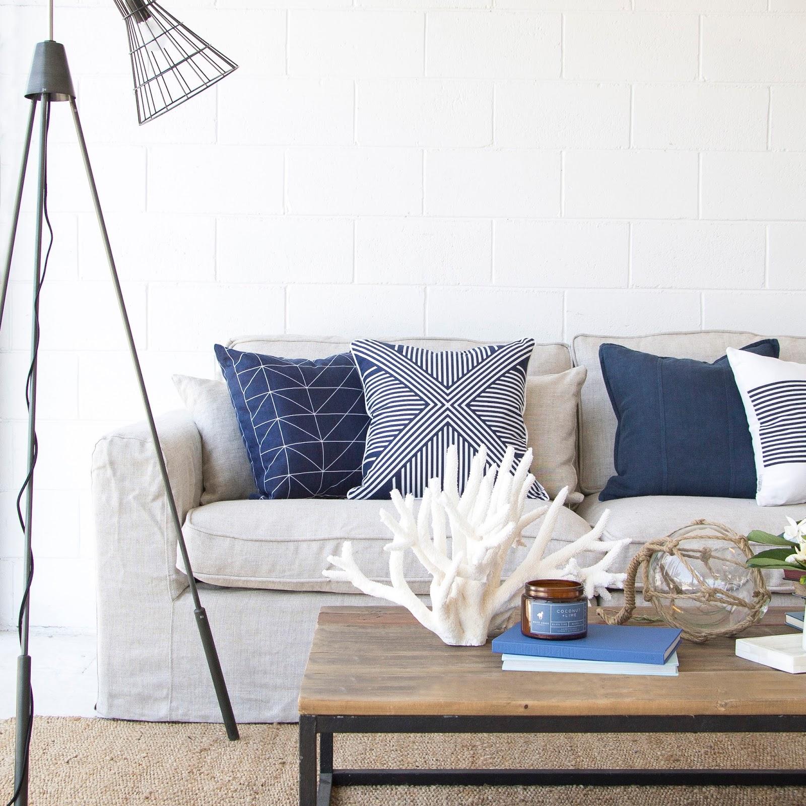 Coastal style beach house furniture for Furnishing a beach house