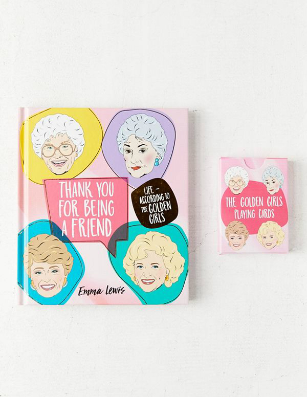 golden girls book gift set