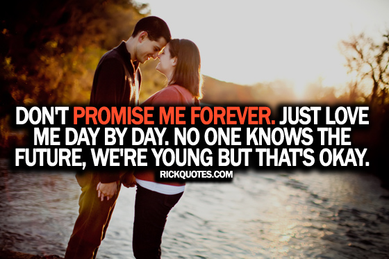 Love Quotes | Love Me Day By Day