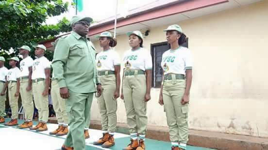 Governor Ikpeazu rocks NYSC outfit in Abia (photos)