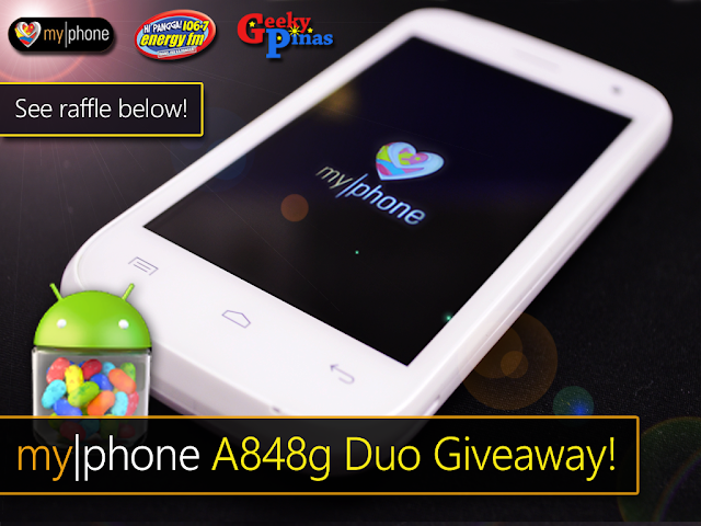 MyPhone A848g Duo Review & Giveaway!