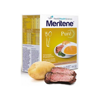 Meritene puré: ternera con patatas y verduras