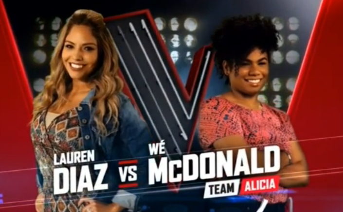 E Musicality Lauren Diaz Vs We Mcdonald With Maybe On The