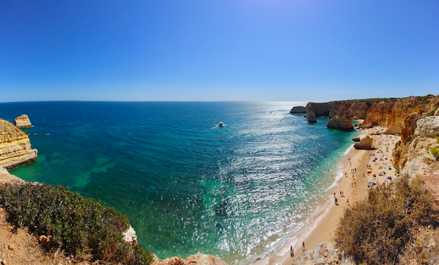 Praia da Marinha - Beach - Portugal #withAeroplan