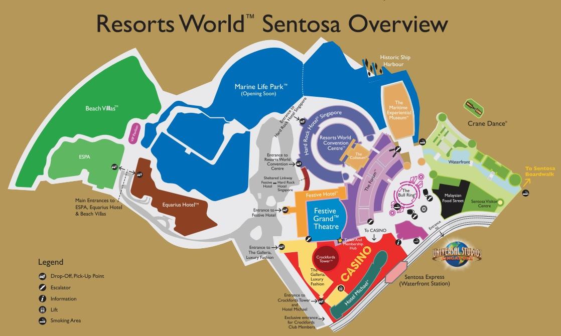 Equarius hotel rws review the wacky duo singapore family map of rws source rws gumiabroncs Choice Image