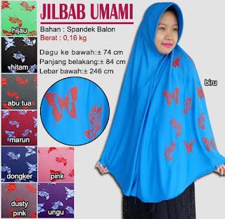 jilbab bergo jumbo syar'i - umami