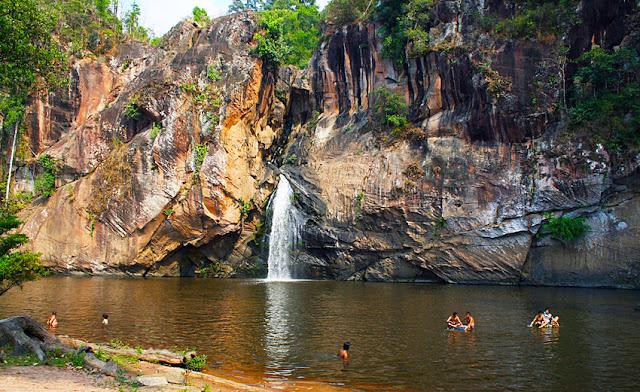 Chat Trakan Waterfall near Phitsanulok