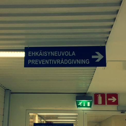 NEUVOLALÄÄKÄRI JA RASKAUDEN VIKA KOLMANNES