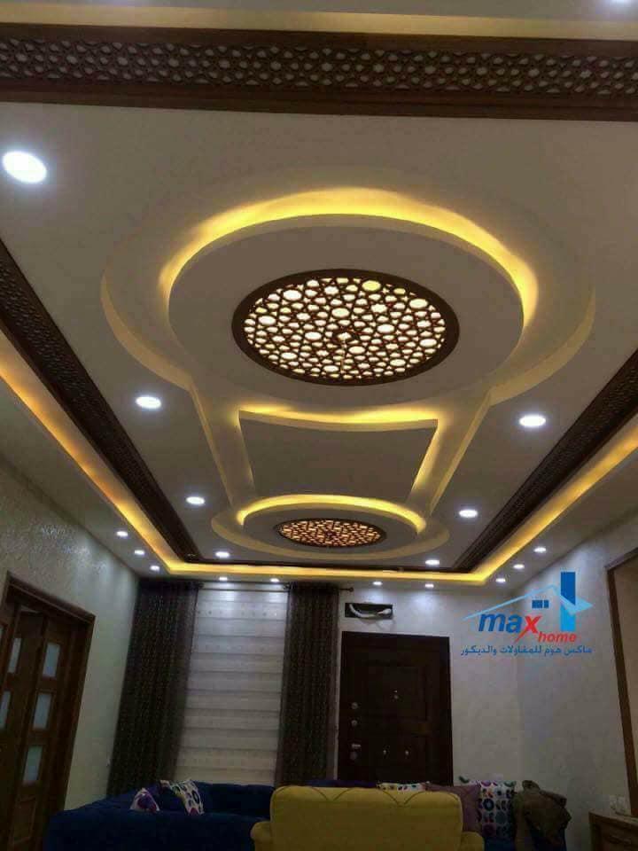 %2BCNC%2BFalse%2BCeiling%2BDesigns%2BIdeas%2B%2B%25289%2529 22 Contemporary Modern CNC False Gypsum Ceiling Decorating Ideas Interior