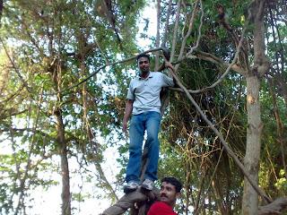 Sreekanth S and Siju George at Pathiramanal