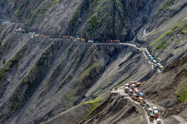 The 15 Most Hazardous Roads In The World - Zozila, India