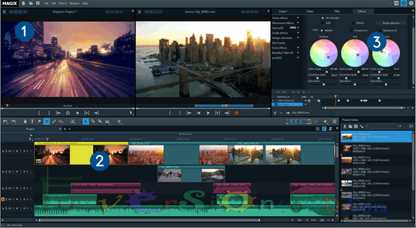 MAGIX Video Pro X8 Full Crack
