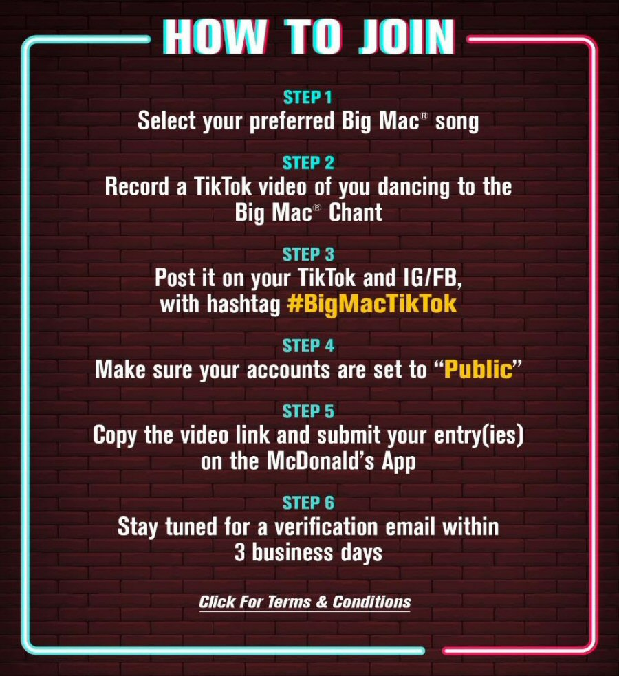 Big Mac x TikTok Challenge: How to Join? (on app)