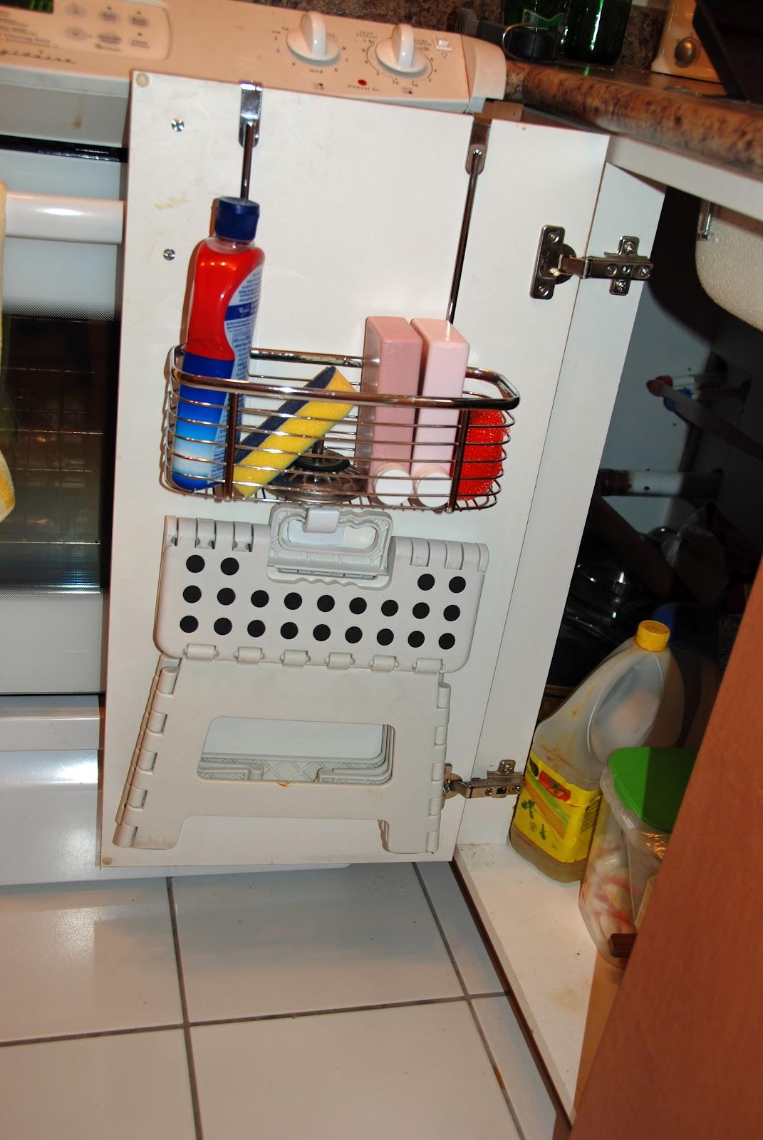 Waffling: My Tips: Small Kitchen Storage