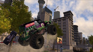 Kali ini gue akan share game bergenre sport  : Monster Jam Battlegrounds - PC Full Version