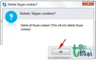 Thiết lập lại các tùy chỉnh trên ứng dụng Skype