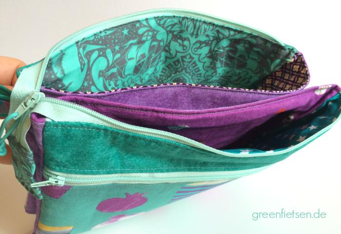Fünf-Fach-Organizer von Farbenmix | Taschen-Sew-Along 2016