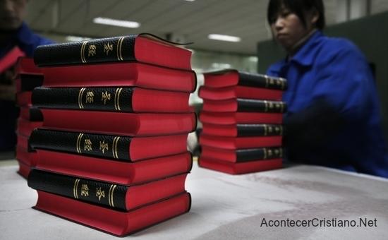 Producen 18 millones Biblias por año en China