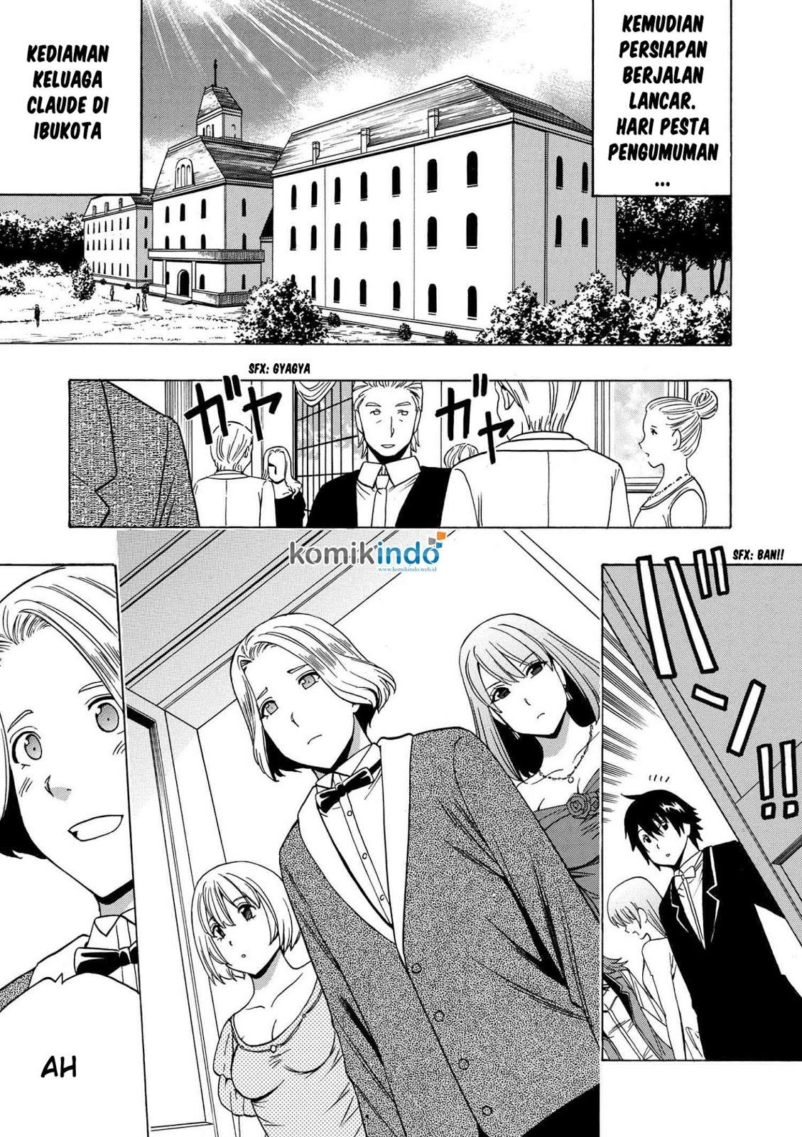 Kenja no Mago Chapter 19