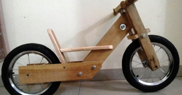 Wooden Bike Cara Membuat Sepeda Kayu Anak Dewasa Bintangtop Com Dunia Ide Dan Kreativitas Tanpa Batas