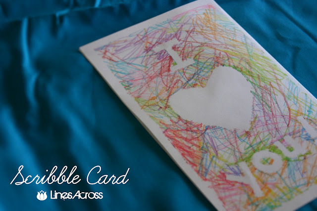 Scribble Drawing Lesson Plan : Scribble card valentines lesson plans