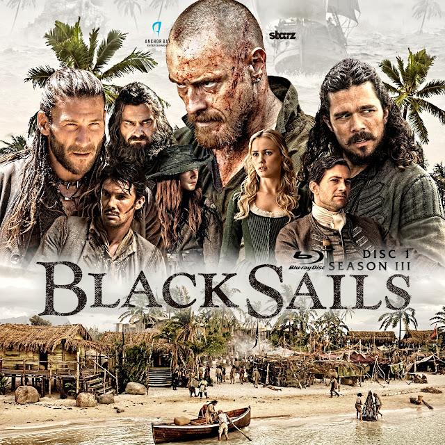 Black Sails Season 3 Disc 1 Bluray Label