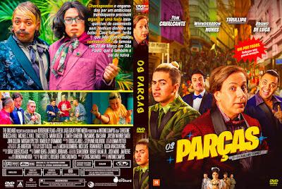 Filme Os Parças DVD Capa