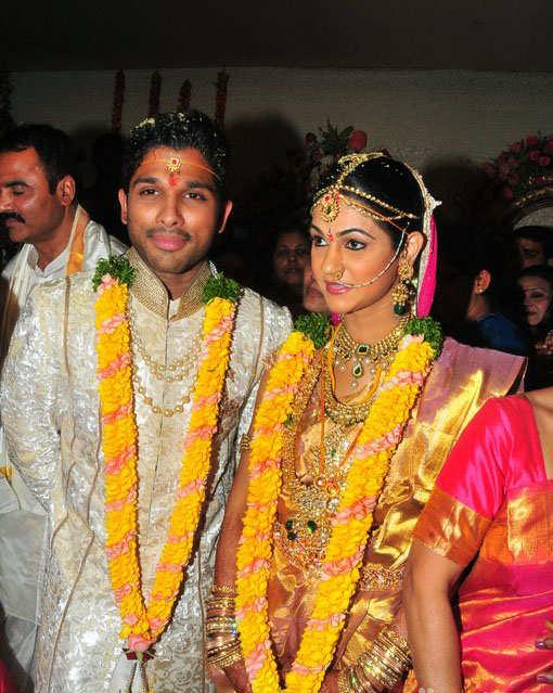 Allu Arjun Marriage and Wedding Photos
