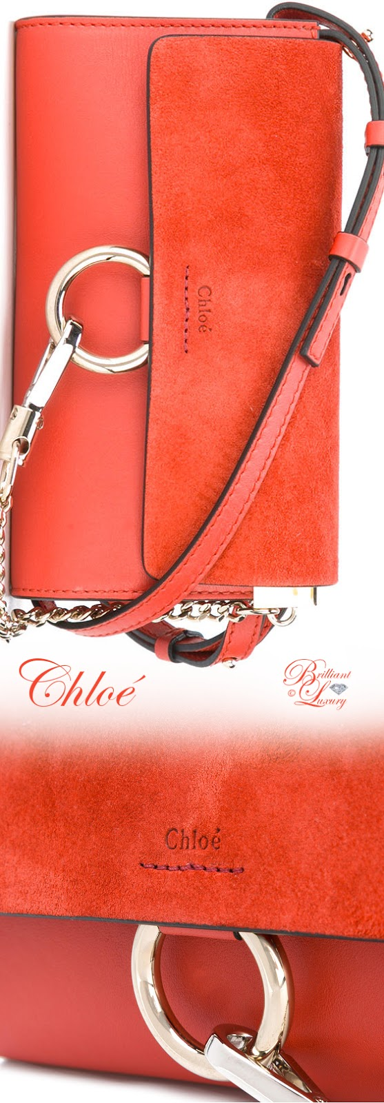 Brilliant Luxury ♦ Chloé Faye Crossbody Bag