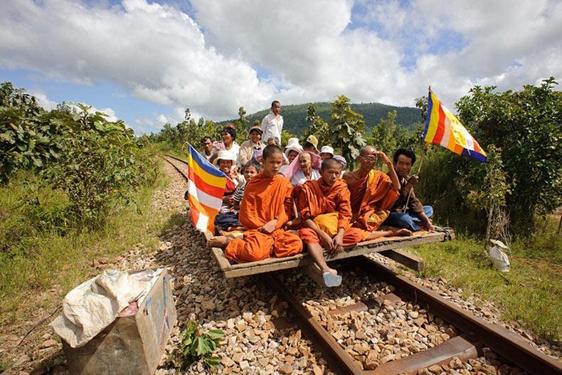 Los trenes de bambú | Camboya