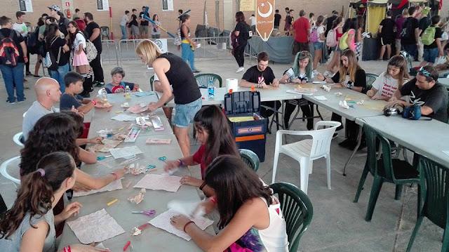 Talleres del Salón del Manga de Jerez 2017