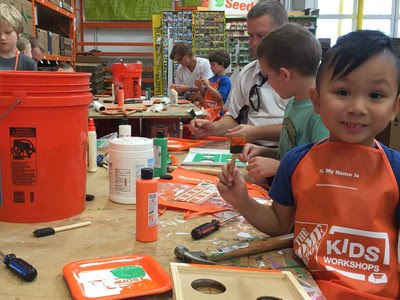 Restrictions on the Home Depot Classes Kids