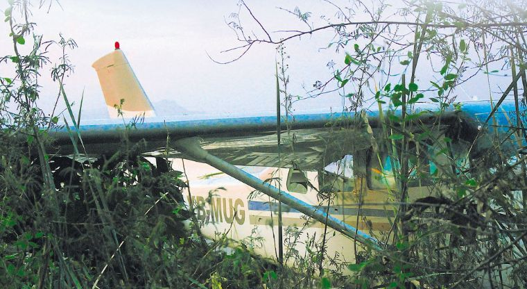 MEGA GOLPE AL NARCO; Decomisan 6 avionetas y 700 mil pesos
