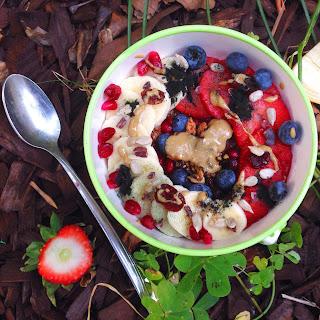 This gluten free celiac's recipe for vegan oatless oatmeal!