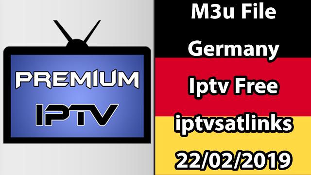 M3u File Germany Iptv Free iptvsatlinks 22/02/2019