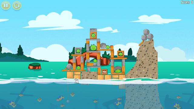 Angry Birds Seasons - Captura 5