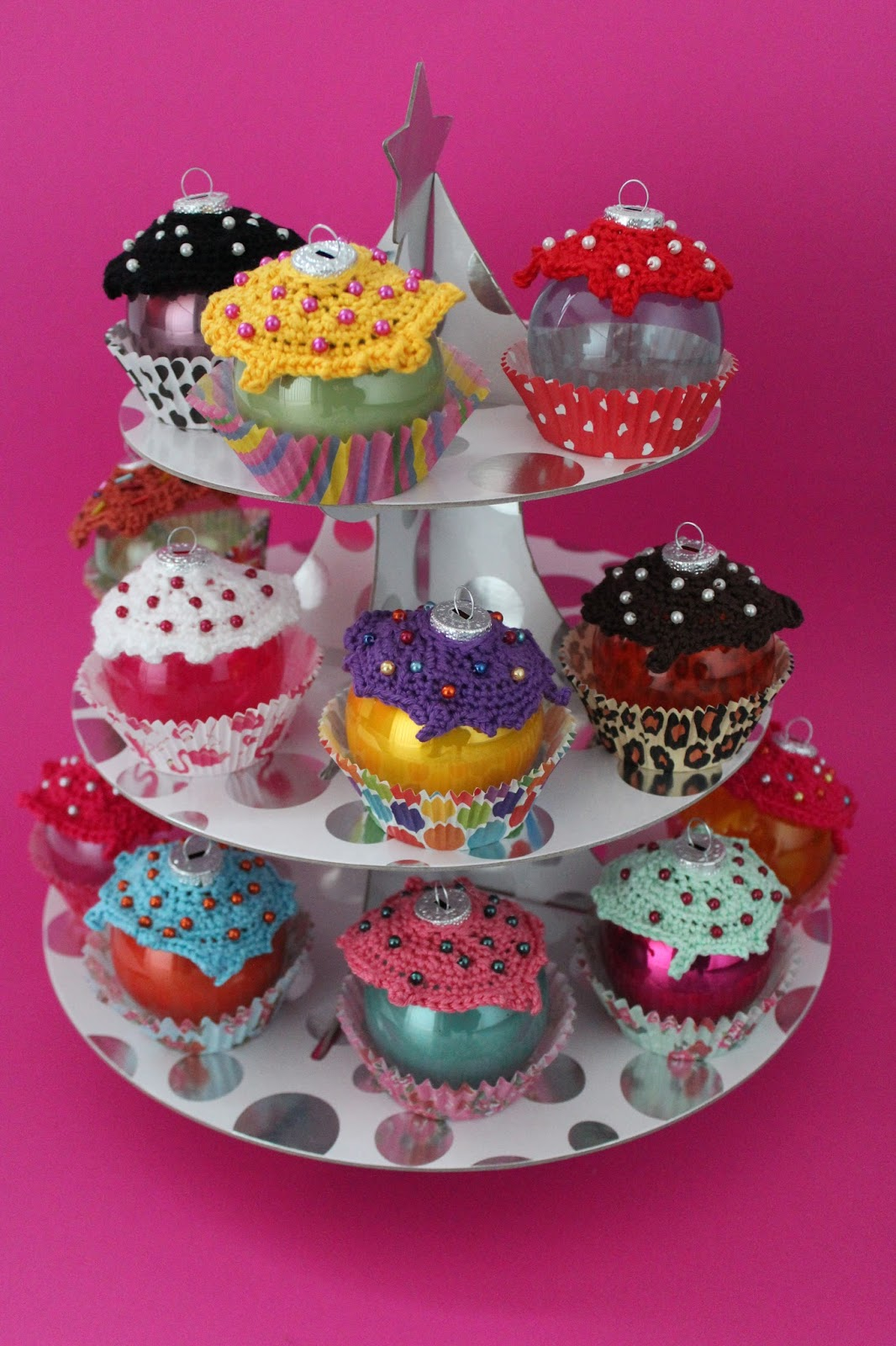 diy cupcakes weihnachtsschmuck ars vera e diy blog. Black Bedroom Furniture Sets. Home Design Ideas